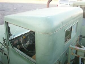 Military Truck Surplus Steel Cab Hard Top With Rear Sliding Window 7085313 Used
