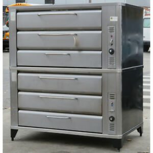 Blodgett 981 981 Double Deck Natural Gas Oven Used Very Good Condition