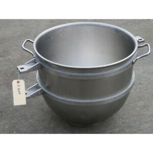 Hobart Legacy Bowl hl80 80 Qt Stainless Steel Bowl For Hl800 Mixer Used