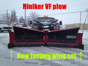 Hiniker Factory Wings For Vf Snowplow Clip on Box End 9860 9960 Plow Extensions