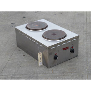 Gmcw El24sh 2401 Electric Double Burner Used Excellent Condition