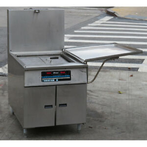 Pitco Dd24rufm Gas Donut Fryer Used Excellent Condition