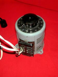 Powerstat Variable Ac Transformer 0 140vac Variac Autotransformer