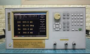 Keysight agilent hp 4287a Rf Lcr Meter 1mhz 3ghz Opt 011