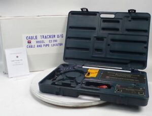 Psiber Data Ct200 Underground Cable Pipe Wire Tracker Locator Detector Tester