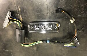 1984 1987 Gm Buick Regal Grand National Chrome Power Seat Switch 20618898