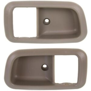 Door Handle Trim Set For 2000 2006 Toyota Tundra Front Beige Fawn 2pc