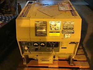 2003 Fermont Mep 831a 3kw Diesel Generator Only 299hours Tactical Quiet Military