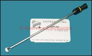 1 Pc Tektronix 384 0383 00 Power Switch Shaft Extension With Pull Knob nos
