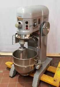 Hobart H600t 60 Qt Mixer Timer 3 Phase 200v Bowl Hook Whisk Paddle