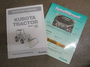 Kubota L45 M59 Tl L 45 M 59 Tl Tractor With Loader Owners Maintenance Manual