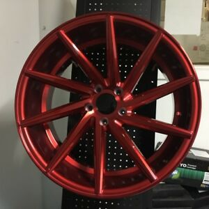 20 Swirl Style Candy Red Style Wheels Rims 5x114 3 5x4 5