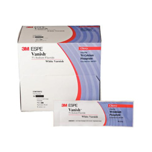 3m Espe 12150m 5 Sodium Fluoride White Dental Varnish 100 pk Mint
