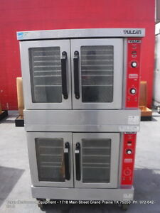 Vulcan Gas Double Stack Full Size Convection Oven On Casters Model Vc4gd 10