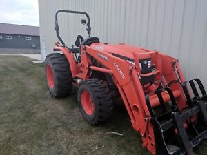 2016 Kubota Mx5200 With Loader Rear Lights Can Deliver