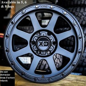 4 New 17 Wheels Rims For 2013 2014 2015 2016 2017 2018 2019 Frontier 2120