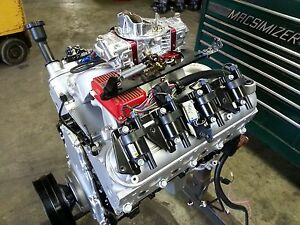Chevy Ls Crate Engine 6 0l 364cid Ls2 Ls1 Ls3 Lsx 550hp Turn Key Rect Port Heads