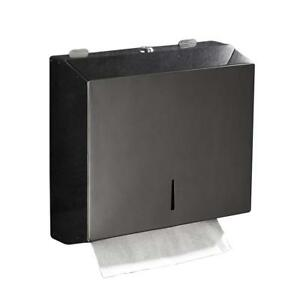 C fold Multifold Paper Towel Dispenser Wall Mounted Stainless Steel Tissue