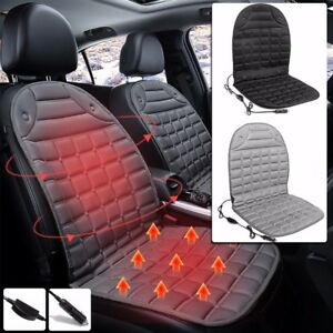 2 12v Car Seat Heater Thickening Heated Pad Cushion Winter Warmer Cover Kit