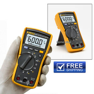 Fluke 115 Compact True rms Digital Multimeter Electrical Cat Iii 600 V Safety