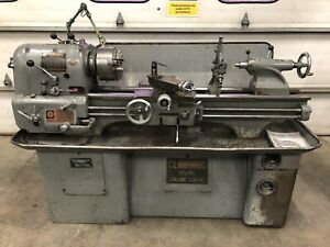 Clausing Colchester 13 x36 Metal Gear Head Lathe Gunsmith 3 Jaw Steady Tooling