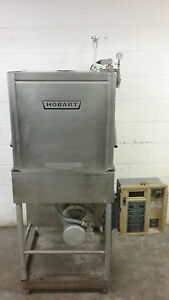 Hobart Am 14c Pass Thru Dish Machine Dishwasher Tested 200 230 Volt