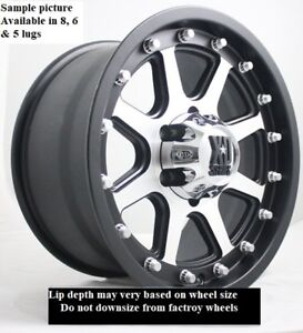 4 New 17 Wheels Rims For 2013 2014 2015 2016 2017 2018 2019 Frontier 2126