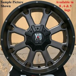 4 New 20 Wheels Rims For Ford F 350 2015 2016 2017 2018 Super Duty 1171