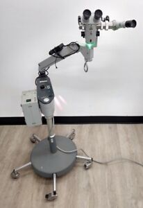 Carl Zeiss Surgical Microscope Opmi 1 f W Rolling Stand