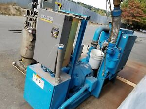 Quincy Qnwv 100 b 100 Hp Rotary Screw Air Compressor Adjustable Speed Drive