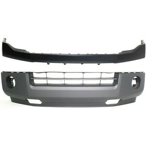 Capa Bumper Cover For 2007 2014 Ford Expedition Front Upper And Lower Set Of 2