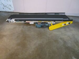 Hytrol Model Ta Electric Belt Conveyor System 84 X 13 1 2hp 115 208 230v 1ph