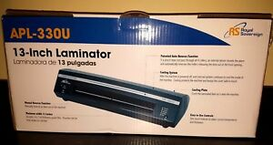 Royal Sovereign Apl 330u 13 inch Photo Document Laminator New In Box
