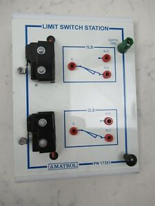Amatrol 17351 Limit Switch Station Electronic Student Trainer Module