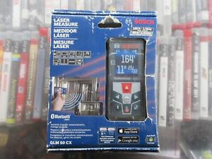 Bosch Glm 50 Cx 165ft Laser Measure With Bluetooth And Full Color Display