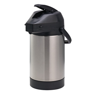 Svap Commercial Coffee Air Pot Vacuum Insulated 3 0l 4 6 Hour Heat Retention
