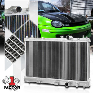 Aluminum 2 Row Core Performance Radiator For 95 99 Dodge plymouth Neon Mt Manual