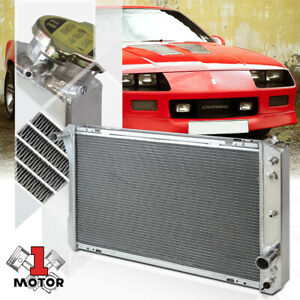 Aluminum 3 Row Performance Radiator For 82 92 Chevy Camaro Firebird Trans Am V8