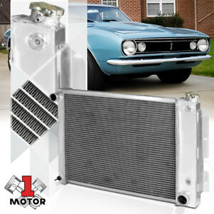 Aluminum 3 Row Core Performance Cooling Radiator For 67 69 Chevy Camaro Firebird