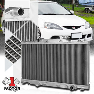 Aluminum 2 Row Core Performance Cooling Radiator For 02 06 Acura Rsx Dc5 Manual