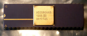 Ad2s80aad Analog Devices Resolver Digital 16bit Parallel 8arcmin 40 Sbcdip Chip