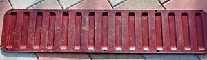 1978 1996 Ford Bronco Tailgate Cargo Access Panel Cover Burgundy Lift Gate 3