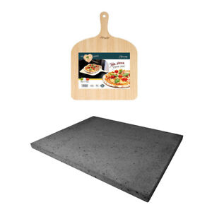 Eppicotispai Pizza Set With Cooking Stone And Pizza Peel