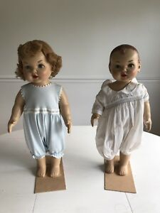Vintage Antique Male And Female Mannequins