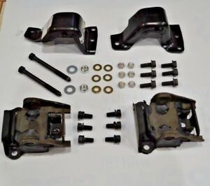 Small Block Motor Mount Kit 1967 1972 Camaro Nova Includes Hardware Complete Kit