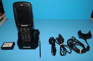 Honeywell Dolphin 6500lp 6500 Handheld Mobile Computer Terminal Scanner Homebase