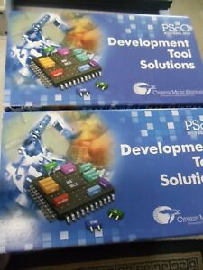 2 Cypress Psoc Mixed signal Array Kit Cy3208 070 Development Tool Solutions New