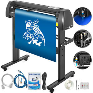 Vinyl Cutter Plotter Cutting 28 Sign Maker 3 Blades 720mm Package Deal With