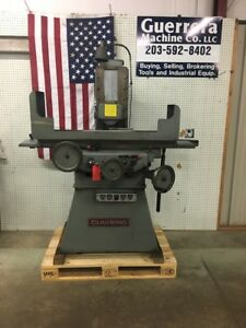 Clausing Covel 6 X 18 Surface Grinder Walker Chuck Super Clean