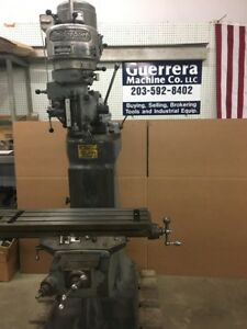 Bridgeport Milling Machine 36 Table